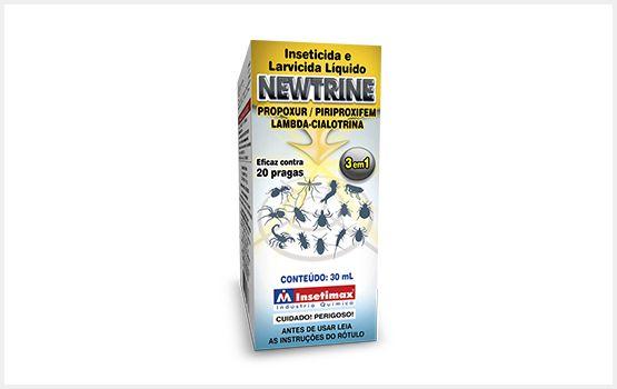 Inseticida e Larvicida liquido 3 em 1 Newtrine 30ml - Insetimax