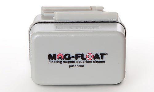 Limpador Magnético para aquários de vidro de até 10mm - Mag-Float 125