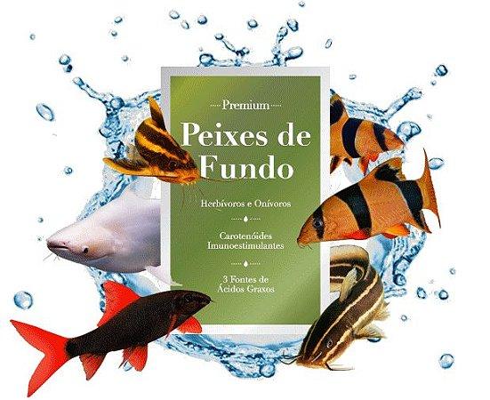 Ração Poytara peixes de Fundo 135g