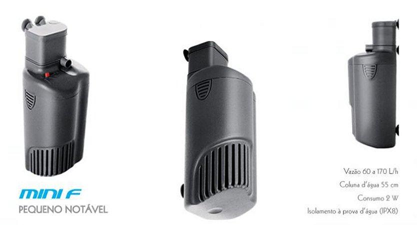 Filtro Interno Sarlo Mini-F com vazão de 60-170l/h 127V