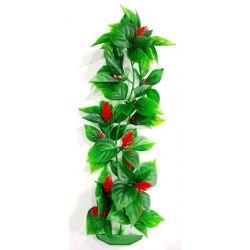 Planta plástica para ornamentação de aquários Anubia Ana Pequena - Mr Pet - 6052