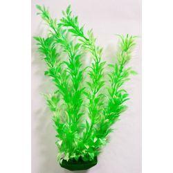 Planta plástica para ornamentação de aquários Alga Crespa pequena - Mr Pet - 6192