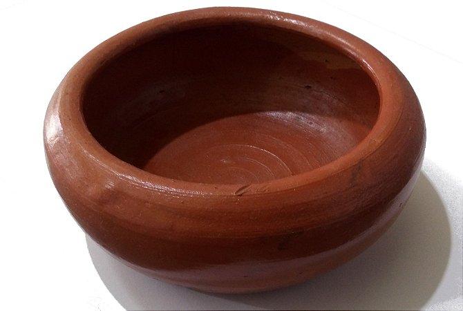 Bebedouro e comedouro cerâmico (barro) para Calopsitas