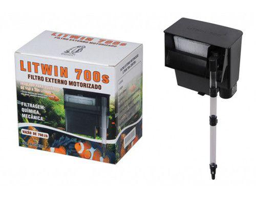 Filtro externo para aquários tipo Hang-On Litwin 700S 220V
