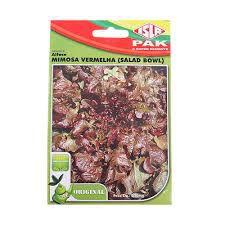 Alface Mimosa Vermelha