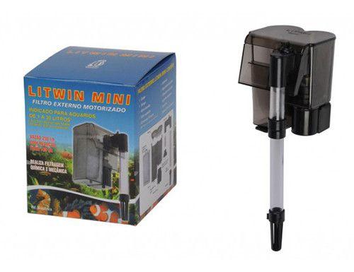 Filtro externo para aquários tipo Hang-On Litwin Mini 110V