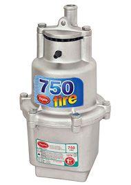 Bomba submersa para reservatórios, poços e captação de água - Rayma Fire 750 220v