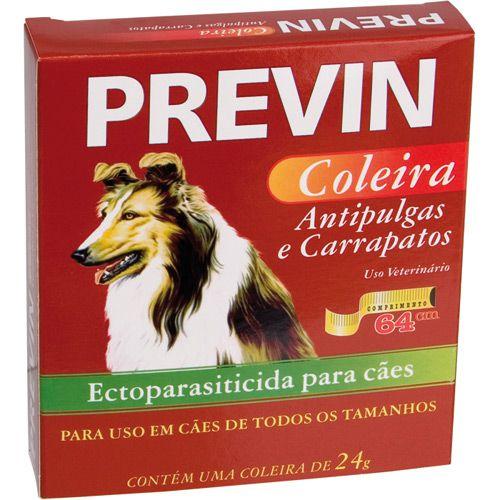Coleira contra Pulgas e Carrapatos Previn - Cães - tamanho Único - 64cm