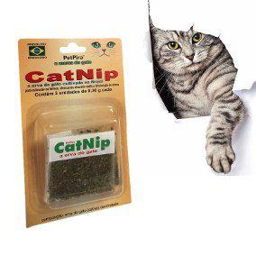 CatNip A Erva do Gato - 3 unidades de 0,3g