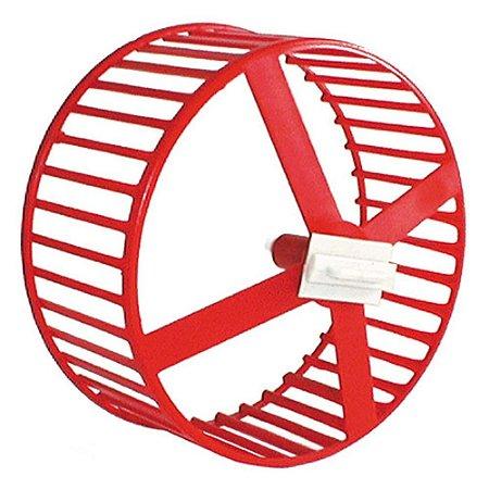 Roda plástica para hamster