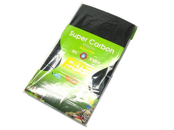 Esponja impregnada de carvão ativado - Ista Super Carbon media 45cm x 25cm x 1,5cm