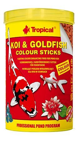 Ração Koi & Goldfish Colours Sticks 90g - Tropical