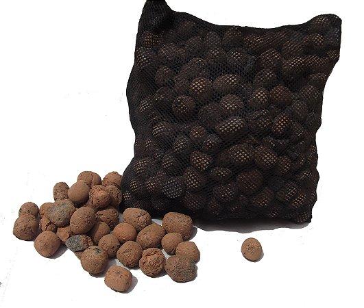Argila Expandida C/Bag pra filtragem biológica (aprox. 1,6kg) - 2 litros