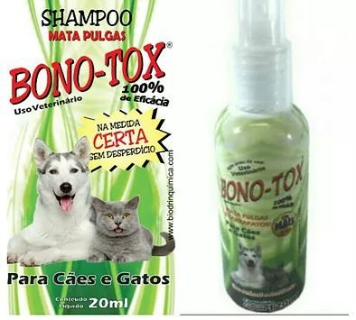 Spray Mata Pulgas & Carrapatos Bono-Tox 120ml - Biodrin