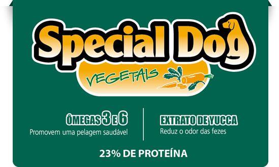 Alimento Premium para cães Adultos Special Dog sabor vegetais 3kg