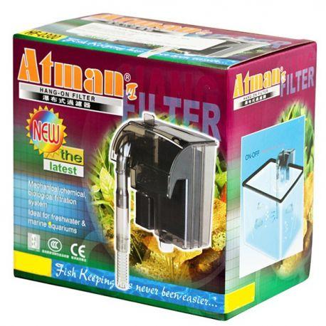 Filtro externo (Hang-on) para aquários Atman HF-0100 160l/h - 127V