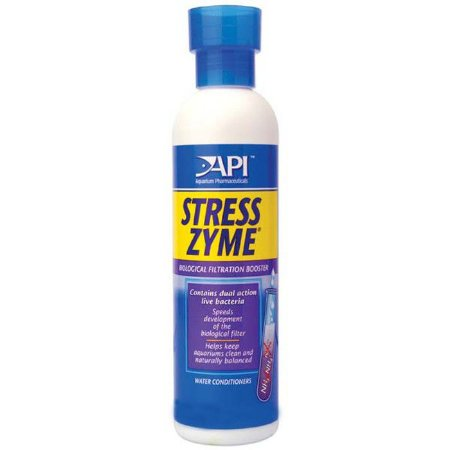 Acelerador biológico para aquários de água doce ou salgada - API Stress Zyme 30ml