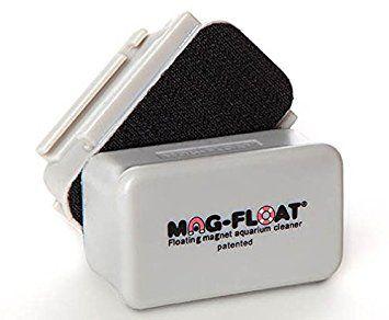 Limpador Magnético para aquários de vidro de até 5mm - Mag-Float 30