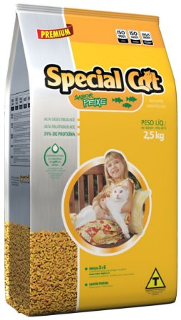 Alimento Premium para Gatos Special Cat Peixe 1kg