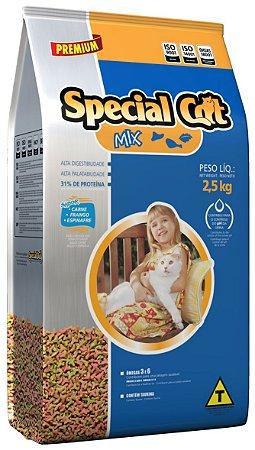 Alimento Premium para Gatos Special Cat Mix 2,5kg