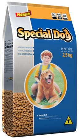 Alimento Premium para cães Special Dog sabor carne 2,5kg