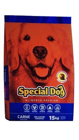 Alimento Premium para cães Special Dog sabor carne 15kg