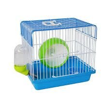 Gaiola completa para Hamster Mini House - Christino Pet - Azul