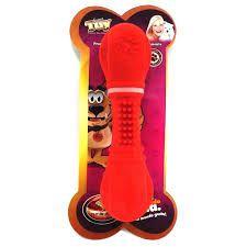Osso Especial de borracha N 1 - P - Super Toy - Furacão Pet