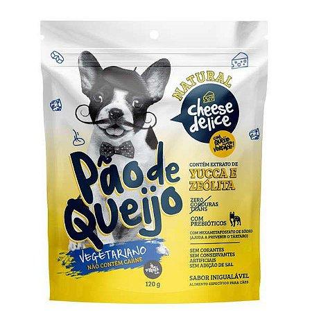 Pão de Queijo vegetariano para cães com queijo de verdade - 120g - French Co