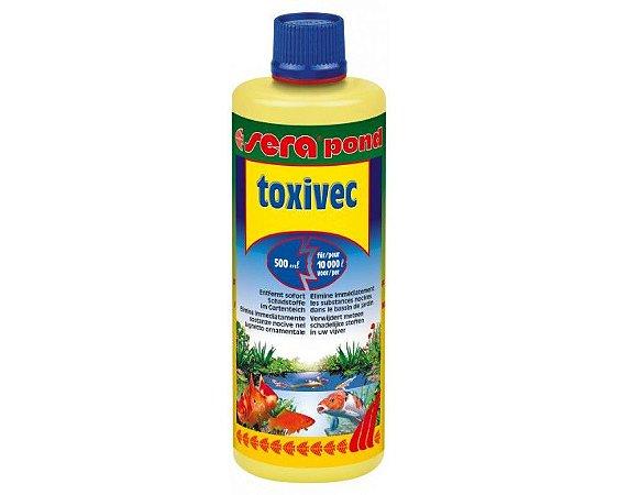 Removedor de poluentes, Amônia, Nitrito e cloro Sera Pond Toxivec 500ml