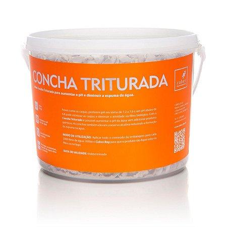 Concha triturada para aumentar o pH 3kg (2,2l)