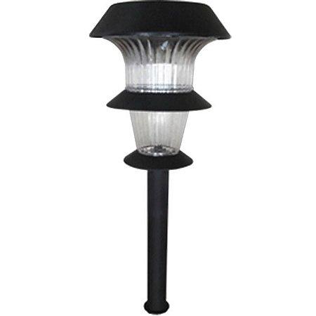 Luminária decorativa SuperLED ABS com carregamento solar