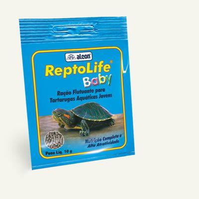 Ração para tartarugas d'agua filhotes Alcon Reptolife baby 10g