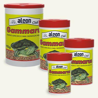 Ração para tartarugas d'agua Alcon Gammarus 115g