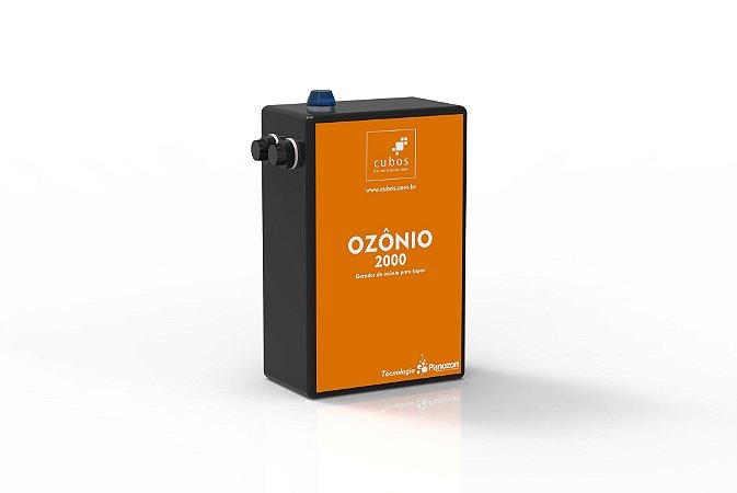 Gerador de ozônio para lagos ornamentais de até 2000 lt 220V - Cubos