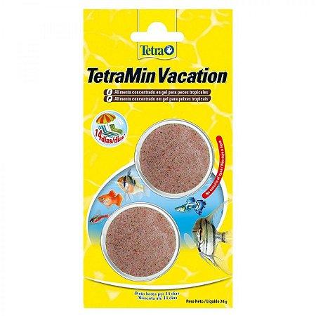Alimento concentrado em gel para peixes tropicais TetraMin Vacation 24g