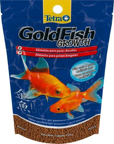 Alimento completo para kinguios em crescimento tetra Goldfish Growth Pellets 220g