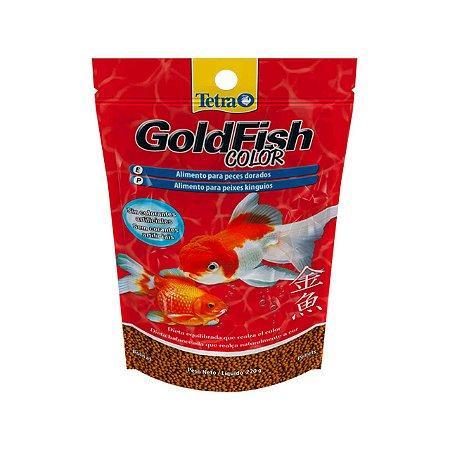 Alimento completo e balanceado para kinguios tetra Goldfish Color Pellets 40g
