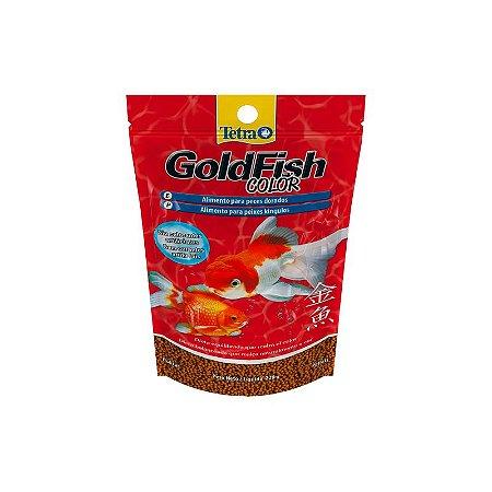 Alimento completo e balanceado para kinguios tetra Goldfish Color Pellets 220g