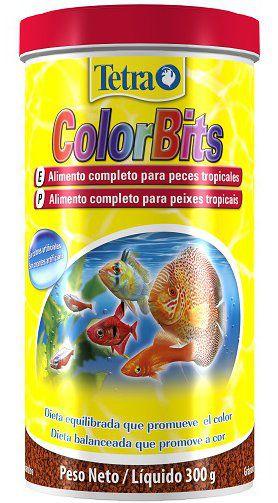 Alimento grãos peixes tropicais  Colorbits Granules 75g
