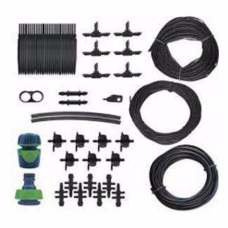 Kit completo para irrigação por fita de gotejadora Amanco