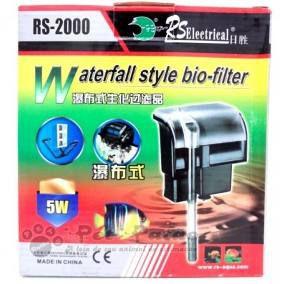 """Filtro externo """"Hang-On"""" RS-Aqua RS-2000 - 800 l/h - 220V"""