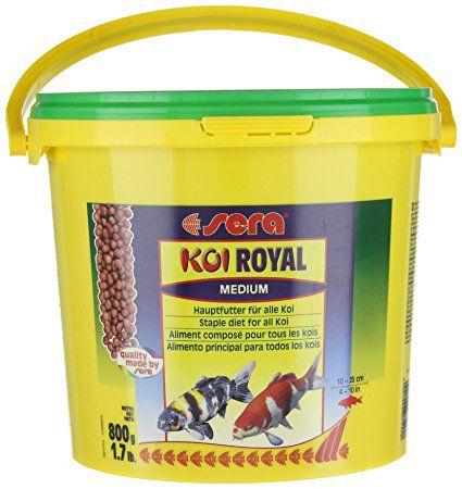 Ração Sera Koi Royal Medium 3,95kg - 21 litros