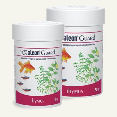 Alimento completo para peixes ornamentais Alcon Guard Thymus 20g