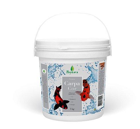 Alimento para Carpas coloridas Poytara Cor 3kg