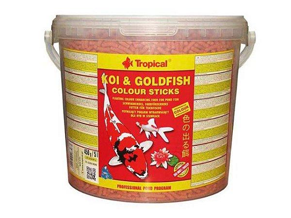 Ração Koi & Goldfish Colours Sticks 1,5kg - Tropical