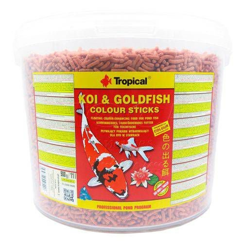 Ração Koi & Goldfish Colours Sticks 900g - Tropical