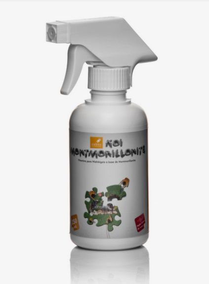 Vitamina para carpas Montmorillonite 250ml com borrifador