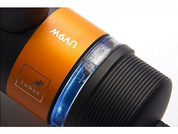 Filtro esterilizador UV de 9W C/Luva de Quartzo para lagos ate 2000lt 110V