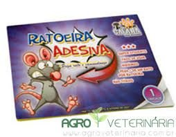 Ratoeira Adesiva pega rato e camundongo - Savana Pet
